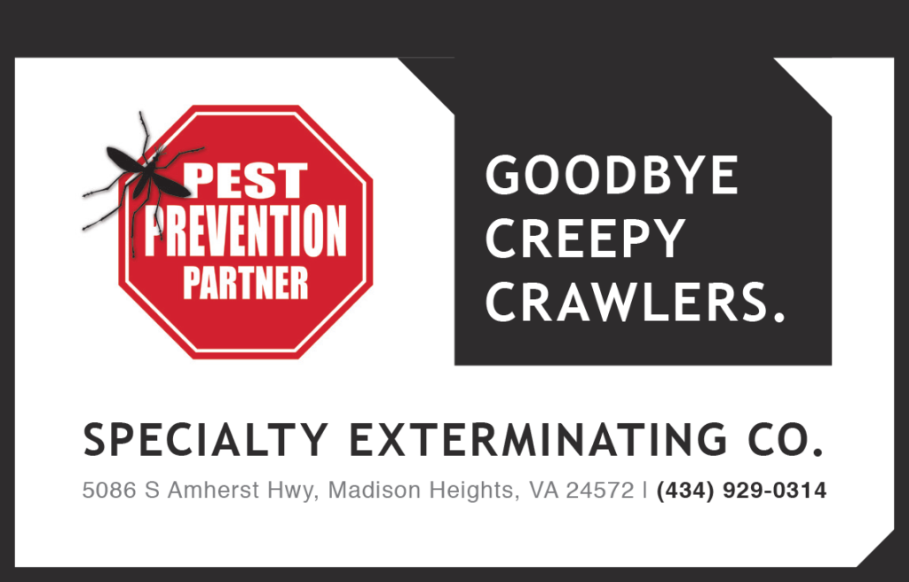 Goodbye Creepy Crawlers