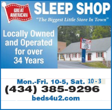 With over 50 Mattress Sets, Lift Chairs, Futons, Iron Beds and more you will find it all at the Great American Sleep Shop. The biggest Little Store in Town!